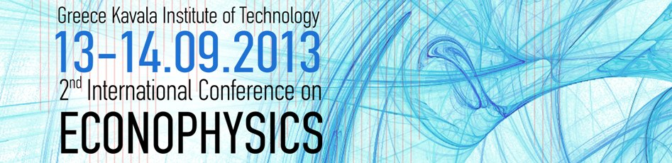 2nd International Conference on Econophysics